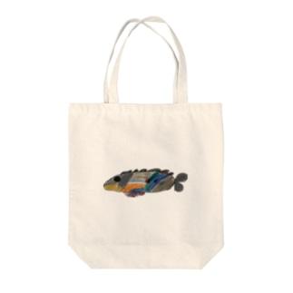 りしゆな:お魚 by はせりょう Tote bags