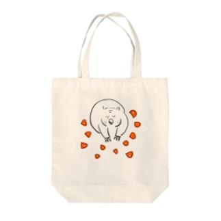 ウォンバットのゴロさん Tote bags