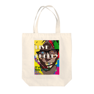 ColorfulLifeのLive Freely Tote bags