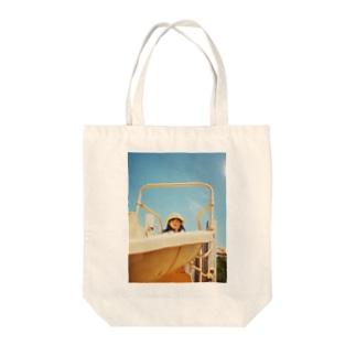 るんげ3歳 Tote bags