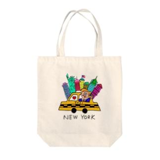 NEWYORK GUY Tote bags