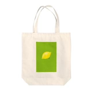 檸檬 緑 トートバッグ