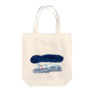 夜空のかけぶとん Tote bags