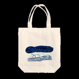sabu6oの夜空のかけぶとん Tote bags