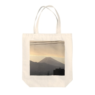 富士山 Tote bags
