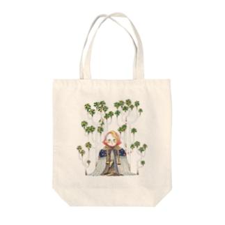 ずきんちゃん Tote bags