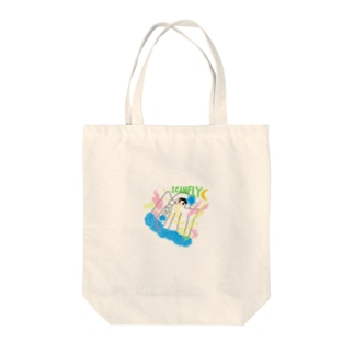 『I CAN FLY』 Tote bags