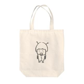 宇宙人 Tote bags