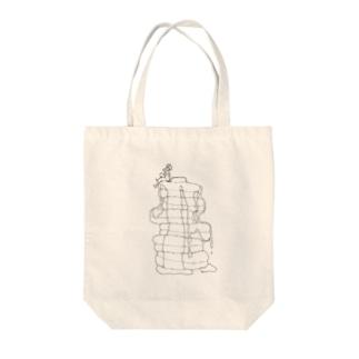 パンケーキと男の子 Tote bags