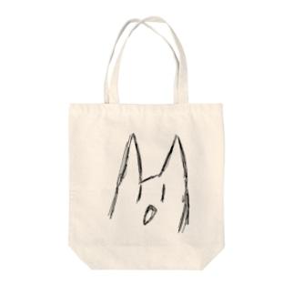 ぶれる猫 Tote bags