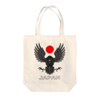 八咫烏 (やたがらす) Tote bags