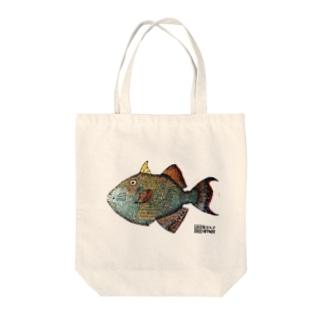 イソモンガラ Tote bags