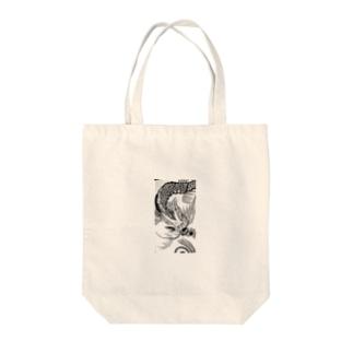雷竜 Tote bags