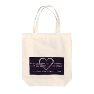 ヘレン・ケラー Tote bags
