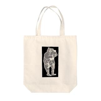 マルティの伝説ブラック Tote bags