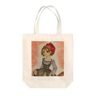魔女っ子 Tote bags