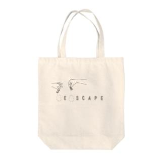 エスケイプ Tote bags