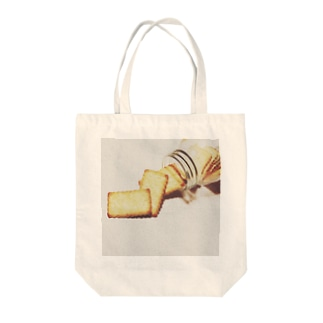 biscuit Tote bags