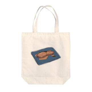 ブリブリの照り焼き Tote bags