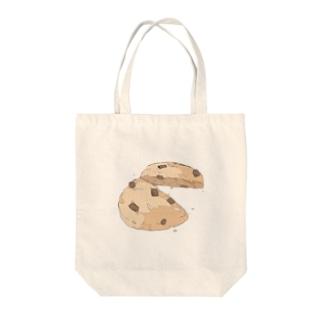 割れたクッキー トートバッグ
