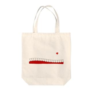 歯-HA red Tote bags
