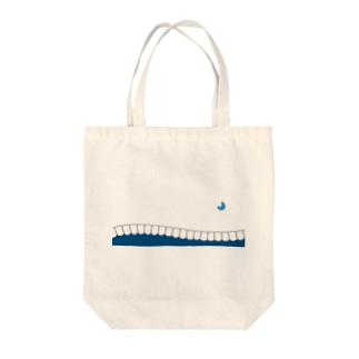 歯-HA blue Tote bags