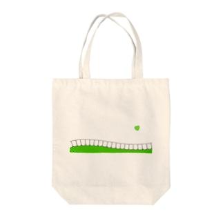 歯-HA green Tote bags