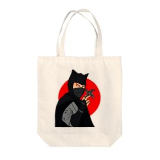 怪傑黒頭巾 Tote bags