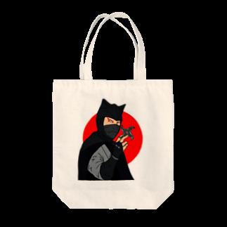 爆弾小僧の怪傑黒頭巾 Tote bags