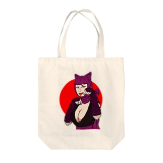 怪盗紫頭巾 Tote bags