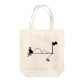 ホールインワン Tote bags
