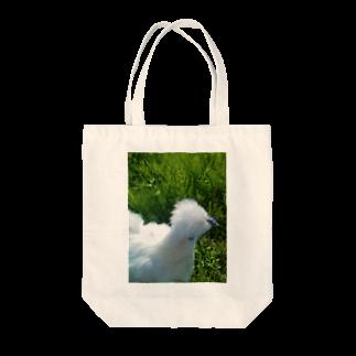 TOMOKAZUの烏骨鶏 Tote bags
