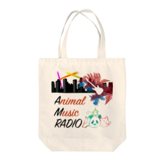 Animal c@sters バンドオリジナルグッズのAMR LOGO(2018) Tote bags