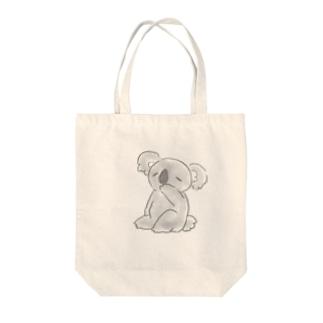 コアラさん Tote bags