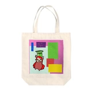 ふみこちゃん Tote bags
