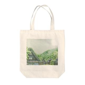 白川郷 Tote bags