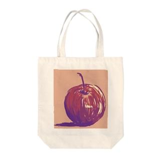 食えない林檎 Tote bags