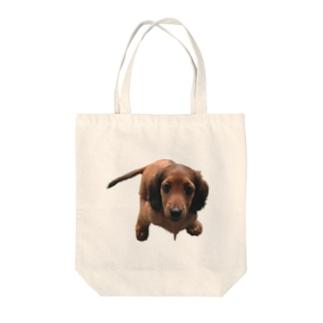 愛しのミニチュワダックス Tote bags