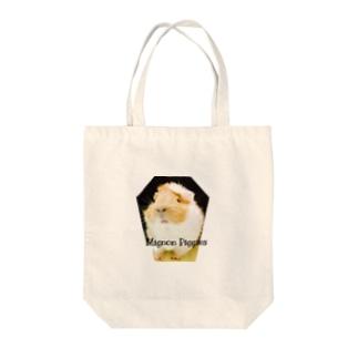 可愛いモルモット Tote bags