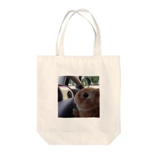 ぽんちゃ運転中 Tote bags