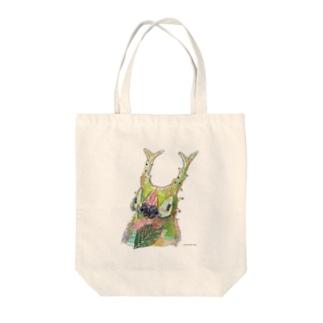 オオムラサキべいびー Tote bags