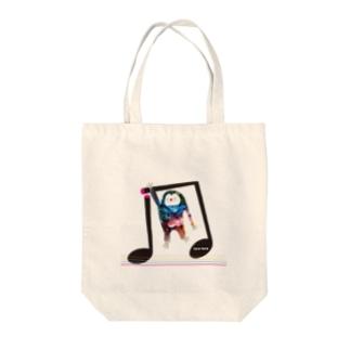 スローリーさん Tote bags