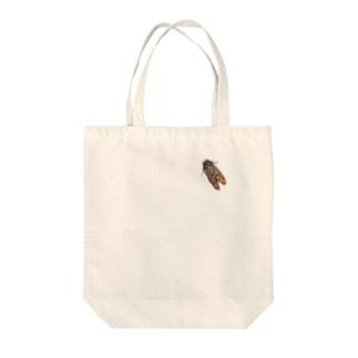 セミ Tote bags