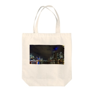 In melbourne  at night⭐️ Tote bags