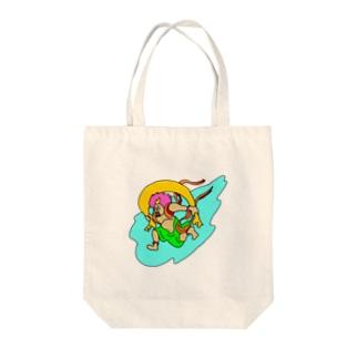 ふうじんさん Tote bags