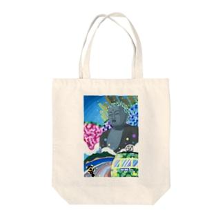 鎌倉大仏 Tote bags
