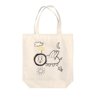 天使になったライオン Tote bags