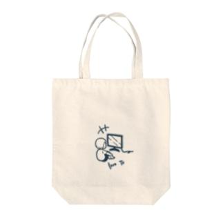 テレビっ子 Tote bags