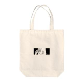ぱしゃり Tote bags