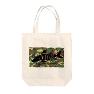 TANKPET CAMO1 Tote bags